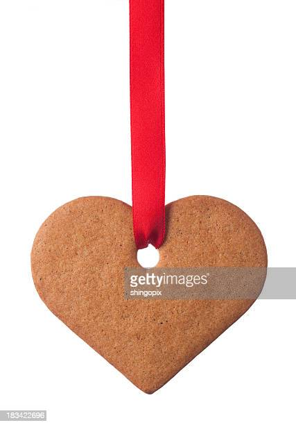 Ginger cookie heart