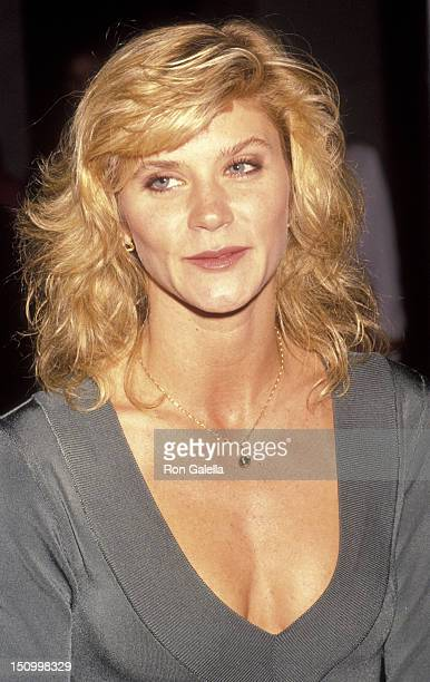 Ginger Lynn Allen attends the premiere of 'Yamagata' on April 15 1991 at the Aham Museum in Westwood California