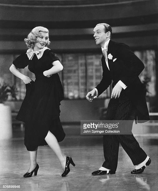 Ginger Rogers and Fred Astaire Dancing