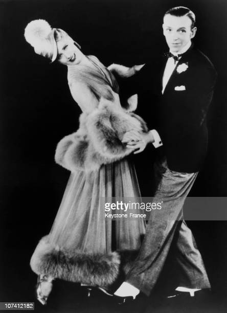 Ginger Rogers And Fred Astaire In Hollywood In 1930