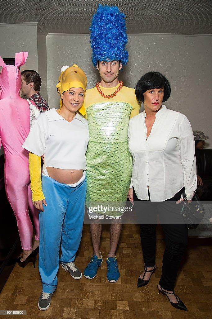 ginger zee ben aaron and anne burrell attend halloween party on october 31 - Ben Aaron