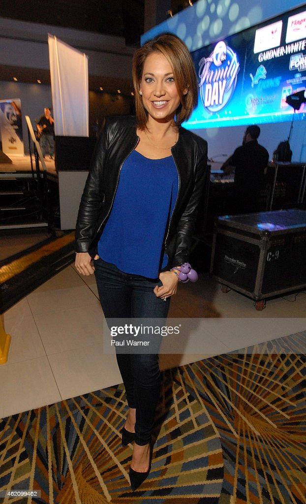Good Morning America Ginger : North american international auto show family day getty