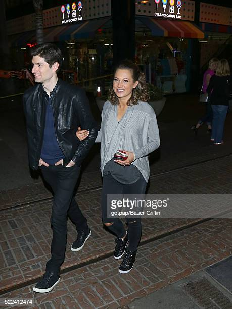 Ginger Zee is seen on April 18 2016 in Los Angeles California