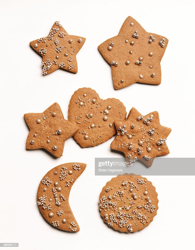 Gingerbread Christmas cookies : Stock Photo