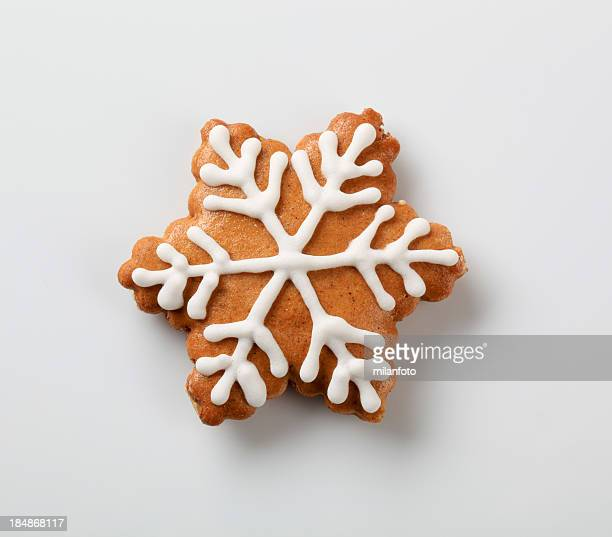 Gingerbread cookie - snowflake