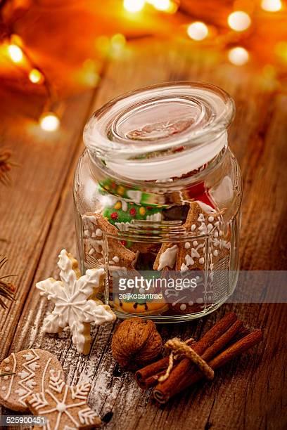 Lebkuchen-cookies Einmachglas