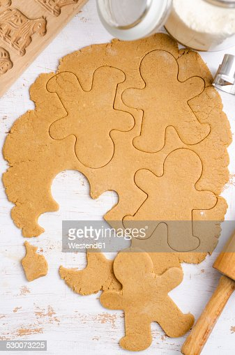 how to make gingerbread cookie dough