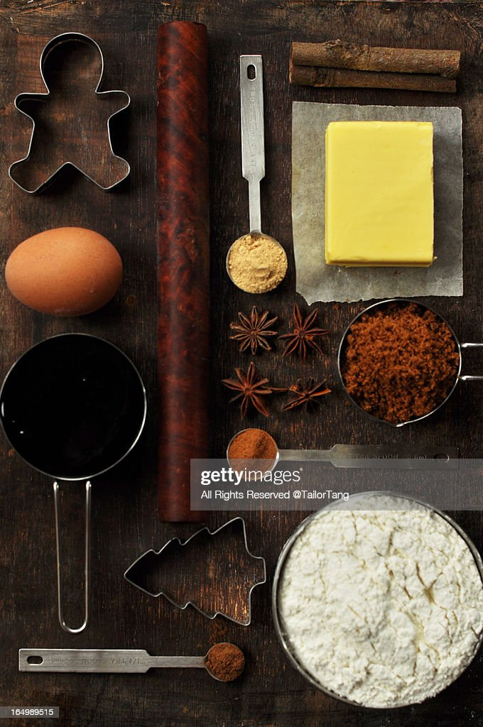 Gingerbread Ingredients Layout