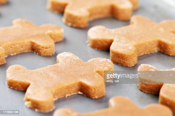Gingerbread Men, Ready for the Oven