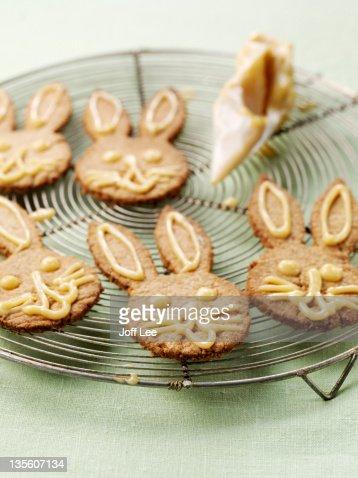 Gingerbread rabbits