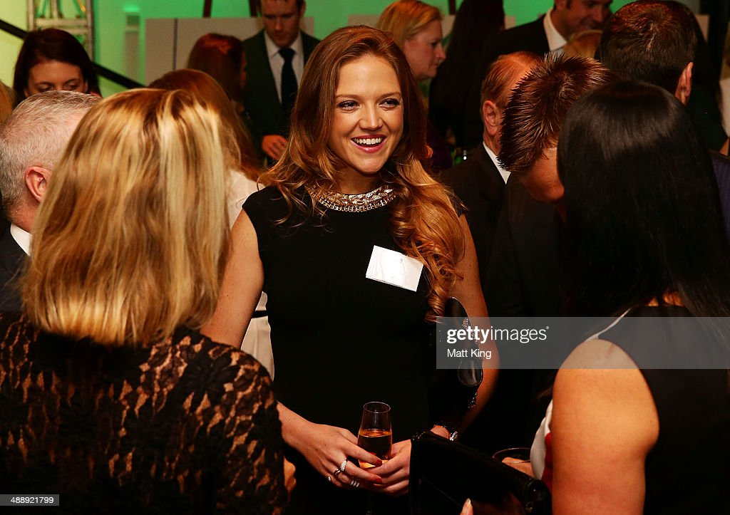 Ginia Rinehart attends the Official Welcome Home Celebration For The 2014 Sochi Olympians And Paralympians at Museum of Contemporary Art on May 9, 2014 in Sydney, Australia.