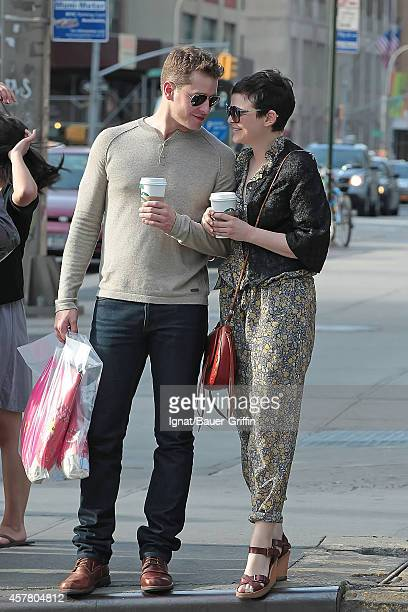 Ginnifer Goodwin and Josh Dallas are seen on May 12 2012 in New York City