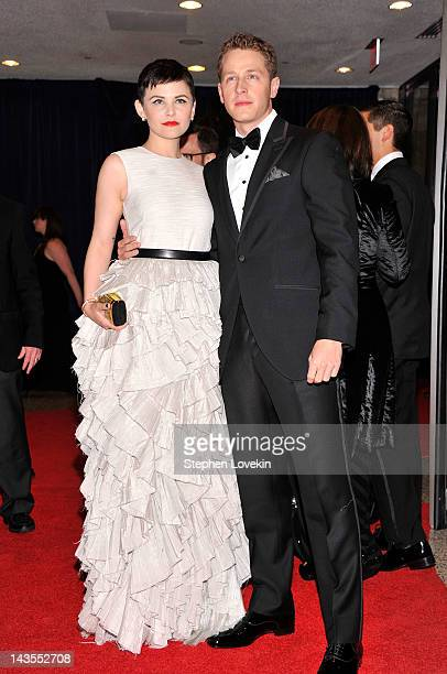 Ginnifer Goodwin and Josh Dallas attend the 98th Annual White House Correspondents' Association Dinner at the Washington Hilton on April 28 2012 in...