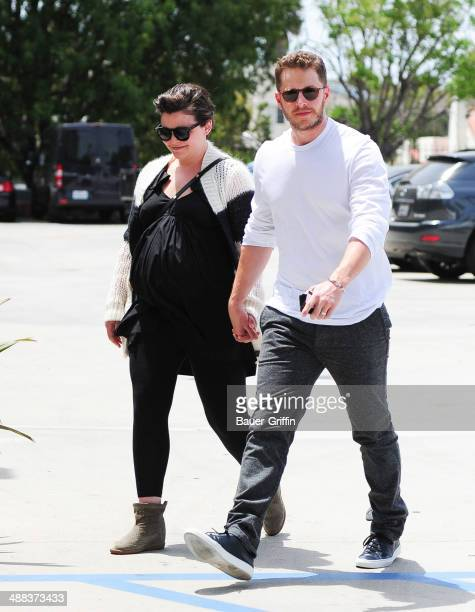 Ginnifer Goodwin and Joshua Dallas are seen on May 05 2014 in Los Angeles California