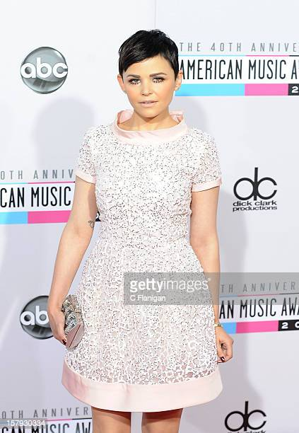 Ginnifer Goodwin arrives at The 40th American Music Awards at Nokia Theatre LA Live on November 18 2012 in Los Angeles California