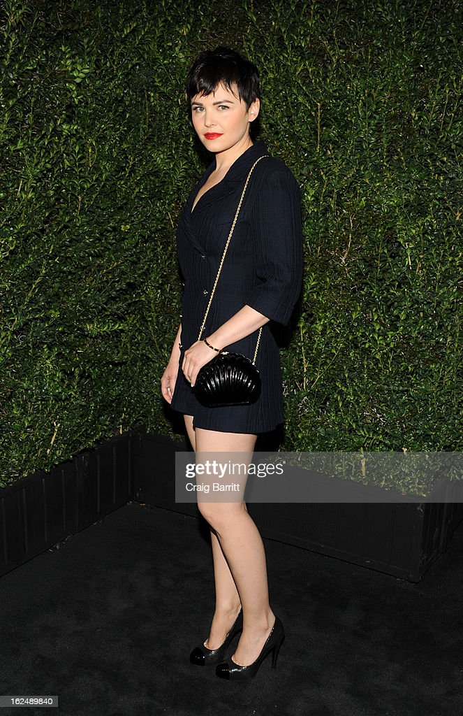 Ginnifer Goodwin attends the Chanel Pre-Oscar dinner at Madeo Restaurant on February 23, 2013 in Los Angeles, California.