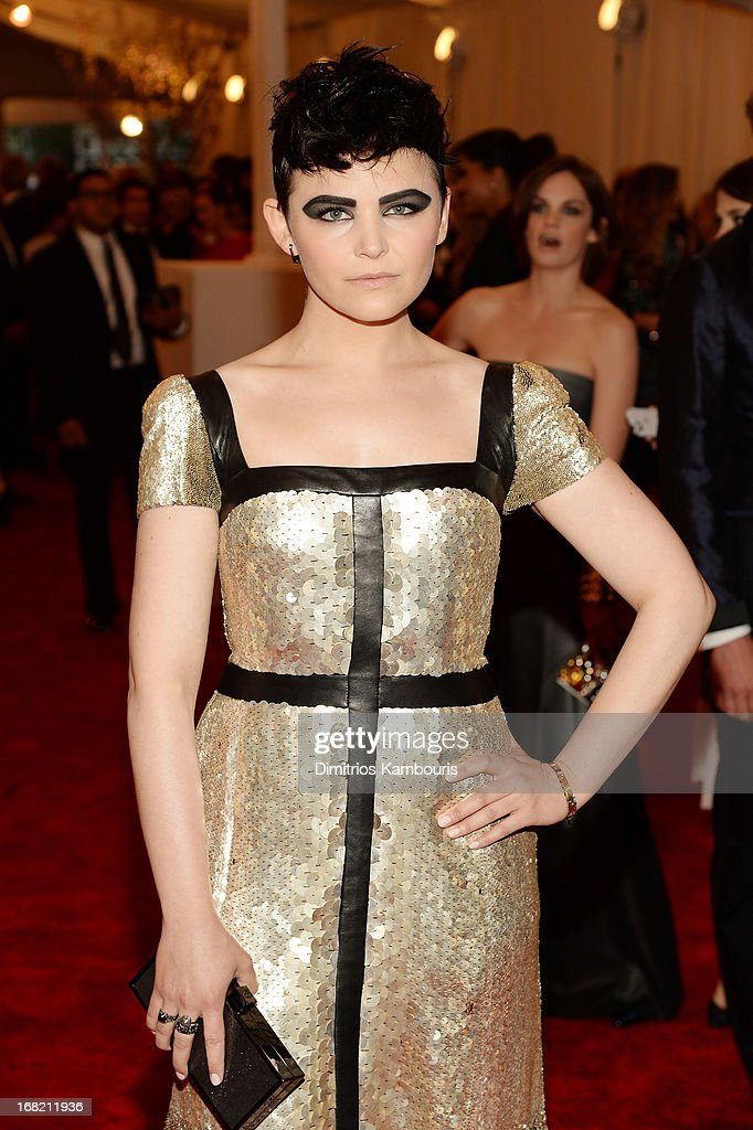 Ginnifer Goodwin attends the Costume Institute Gala for the 'PUNK: Chaos to Couture' exhibition at the Metropolitan Museum of Art on May 6, 2013 in New York City.
