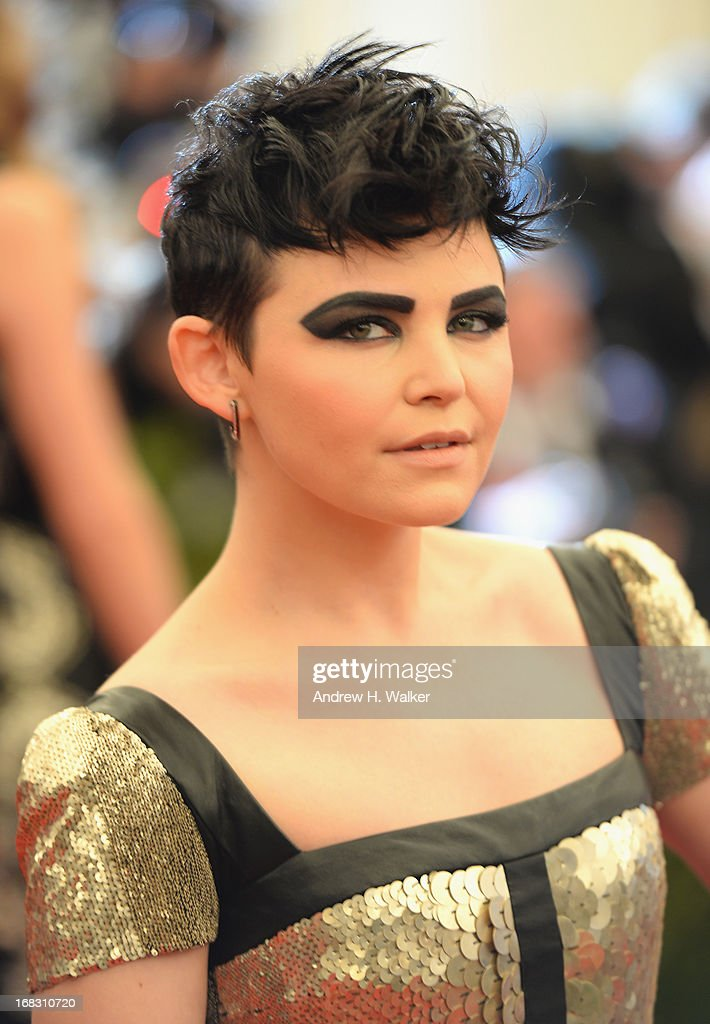 <a gi-track='captionPersonalityLinkClicked' href=/galleries/search?phrase=Ginnifer+Goodwin&family=editorial&specificpeople=215039 ng-click='$event.stopPropagation()'>Ginnifer Goodwin</a> attends the Costume Institute Gala for the 'PUNK: Chaos to Couture' exhibition at the Metropolitan Museum of Art on May 6, 2013 in New York City.