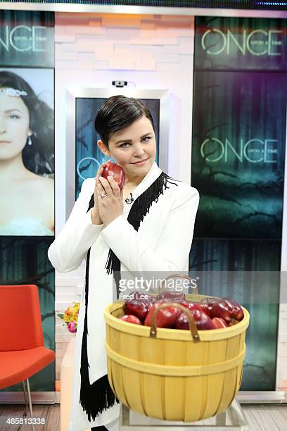 AMERICA Ginnifer Goodwin of ABC's 'Once Upon a Time' is a guest on 'Good Morning America' 3/6/15 airing on the ABC Television Network