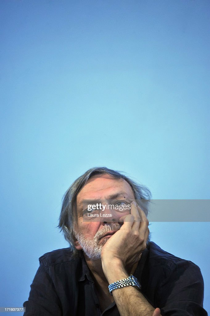 <a gi-track='captionPersonalityLinkClicked' href=/galleries/search?phrase=Gino+Strada&family=editorial&specificpeople=4203022 ng-click='$event.stopPropagation()'>Gino Strada</a>, founder of Emergency, attends the Emergency National Meeting on June 29, 2013 in Livorno, Italy. Italian independent organisation 'Emergency', which also have a branch in North America, transport doctors and medical equipment to regions suffering from poverty and conflict to provide free treatment to those who need it. Volunteers, supporters and politicians met today to discuss the charity's work with the theme of 'Rights and Privileges'.