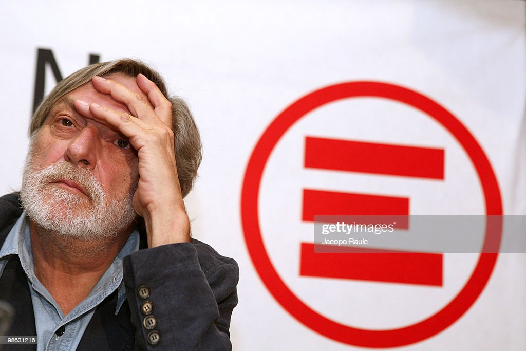 <a gi-track='captionPersonalityLinkClicked' href=/galleries/search?phrase=Gino+Strada&family=editorial&specificpeople=4203022 ng-click='$event.stopPropagation()'>Gino Strada</a>, founder of Italian aid agency Emergency, attends a press conference at the agency's headquarters on April 23, 2010 in Milan, Italy. Matteo Dell'Aira, Marco Garatti and Matteo Pagani, all employees of Emergency, were released after being held for a week by Afghan authorities over an alleged assassination plot against the governor of Helmand province.