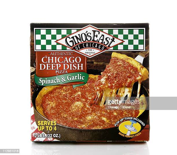 Gino's deepdish frozen pizzas are quick to cook and makes a great meal