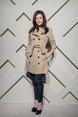 GinOy wearing Burberry at Art of the Trench Taipei event 10 September 2014