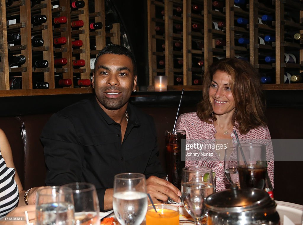 <a gi-track='captionPersonalityLinkClicked' href=/galleries/search?phrase=Ginuwine&family=editorial&specificpeople=1654056 ng-click='$event.stopPropagation()'>Ginuwine</a> and <a gi-track='captionPersonalityLinkClicked' href=/galleries/search?phrase=Julie+Greenwald&family=editorial&specificpeople=705989 ng-click='$event.stopPropagation()'>Julie Greenwald</a> attend TGT's '3 Kings' Listening & Intimate Dinner at Philippe Restaurant on July 23, 2013 in New York City.