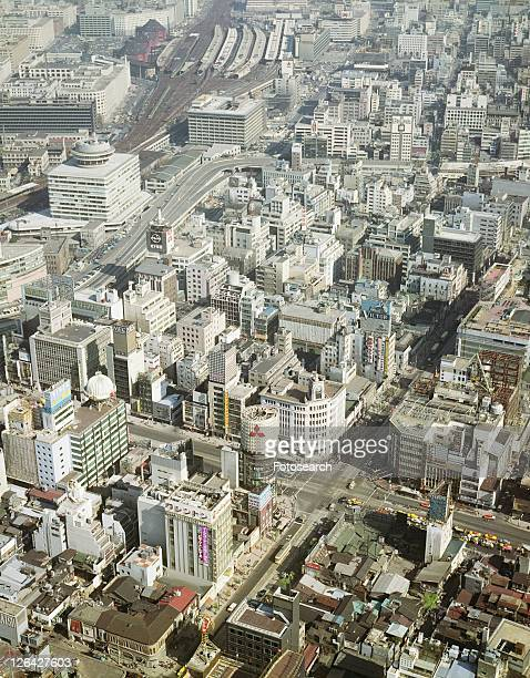 Ginza from the air