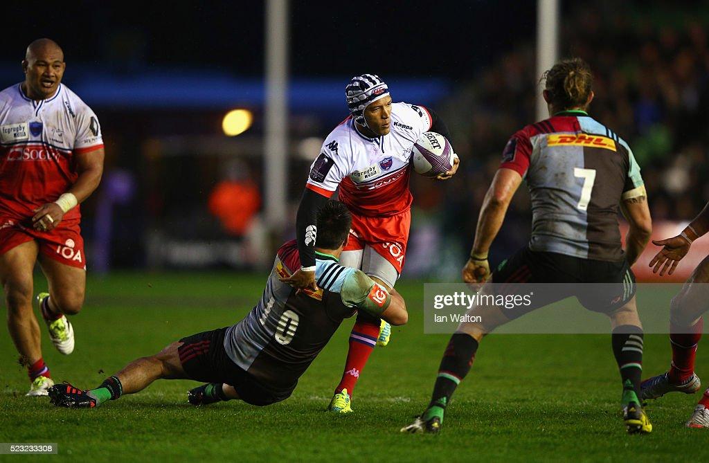Harlequins v Grenoble - European Rugby Challenge Cup Semi Final