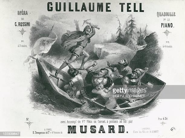 Gioacchino Rossini Guillaume Tell Cover
