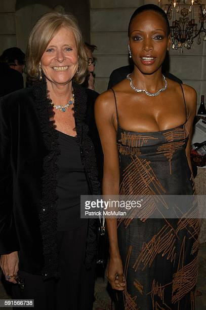 Gioconda Crivelli and Coco Mitchell attend American Italian Cancer Foundation 25th Anniversary Benefit Gala at Pierre Hotel NYC USA on November 14...