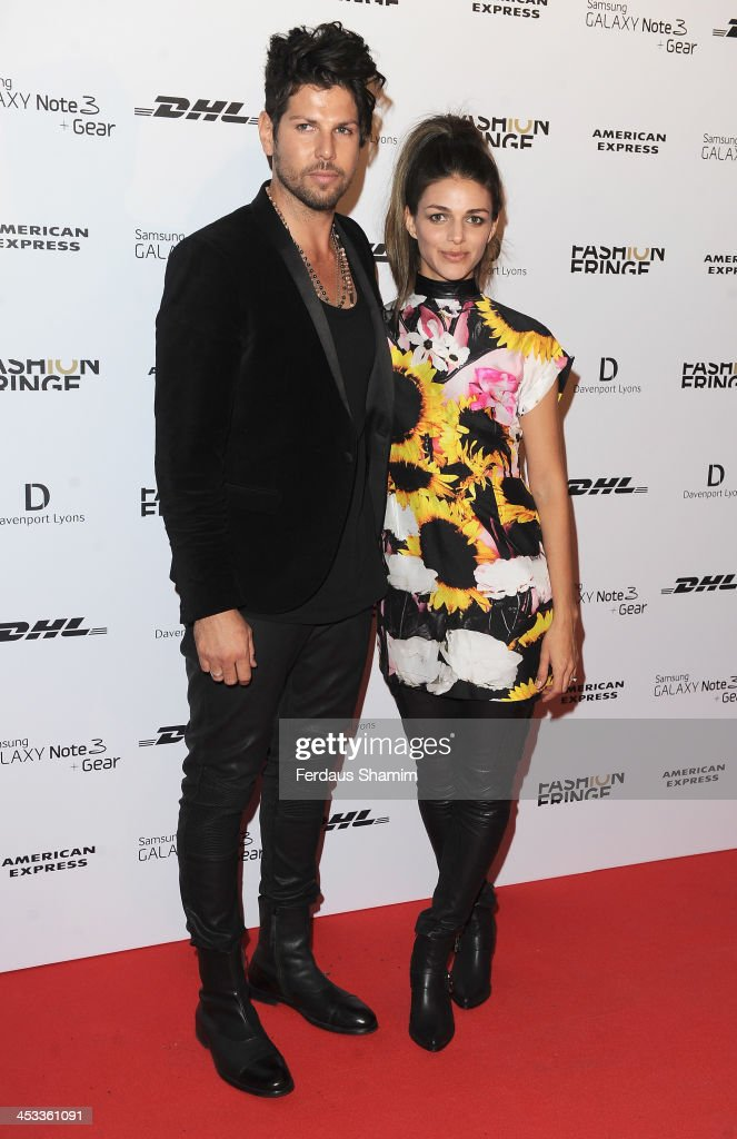 Giorgi and Leo attend the Fashion Fringe 10th anniversary party at the London Film Museum on December 3, 2013 in London, England.
