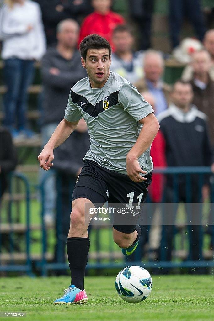 Giorgi Chanturia of Vitesse during the pre season friendly match between on June 20, 2013 at Sportpark de Bree West in Scherpenzeel , The Netherlands.