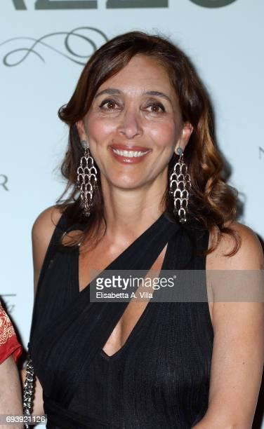 Giorgia Giacobetti attends Anlaids Gala at Palazzo Doria Pamphilj on June 8 2017 in Rome Italy