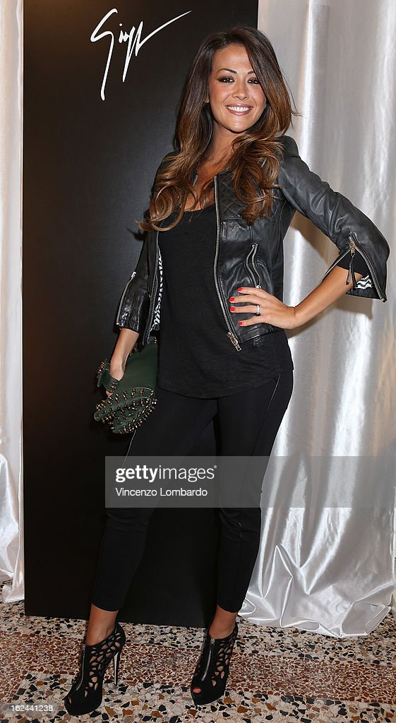 Giorgia Palmas attends the Giuseppe Zanotti Design Presentation during Milan Fashion Week Womenswear Fall/Winter 2013/14 on February 23, 2013 in Milan, Italy.