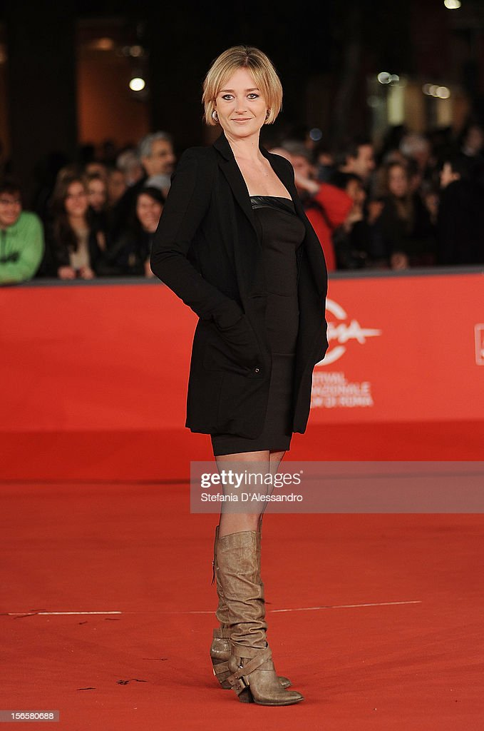 Giorgia Salari attends 'Cosimo E Nicole' Premiere during The 7th Rome Film Festival on November 16, 2012 in Rome, Italy.