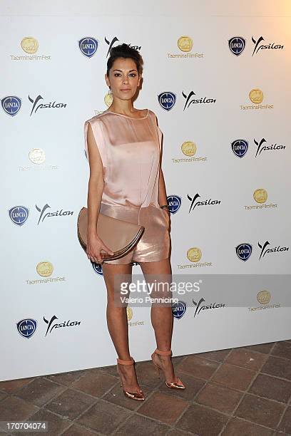 Giorgia Surina attends at the Lancia Cafe during the Taormina Filmfest 2013 on June 16 2013 in Taormina Italy
