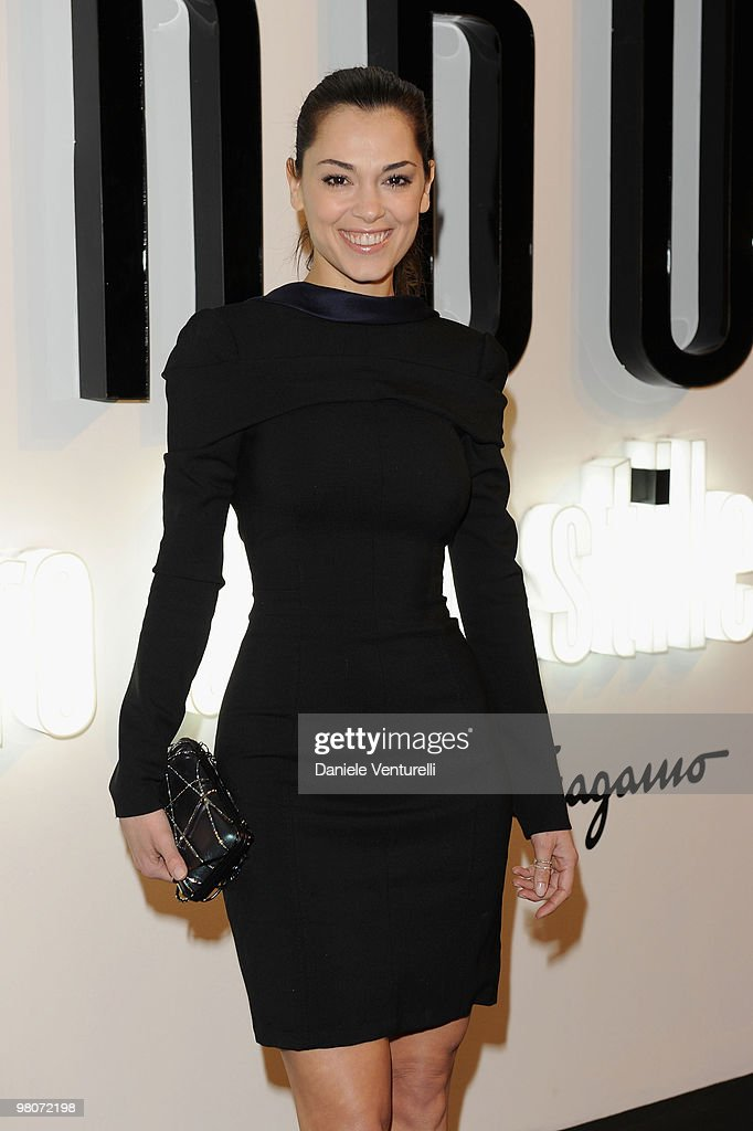 Giorgia Surina attends 'Greta Garbo. The Mystery Of Style' opening exhibition during Milan Fashion Week Womenswear A/W 2010 on February 27, 2010 in Milan, Italy.