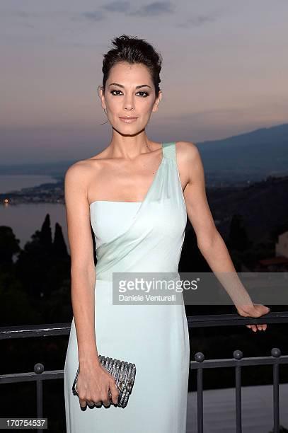Giorgia Surina attends Taormina Filmfest 2013 on June 17 2013 in Taormina Italy