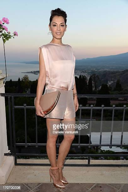 Giorgia Surina attends 'Taormina FilmFest Humanitarian Award' on June 16 2013 in Taormina Italy