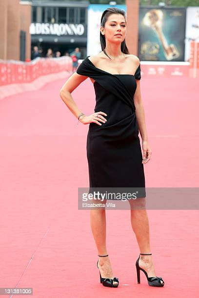 Giorgia Surina attends the Collateral Awards Red Carpet during 6th International Rome Film Festival on November 4 2011 in Rome Italy