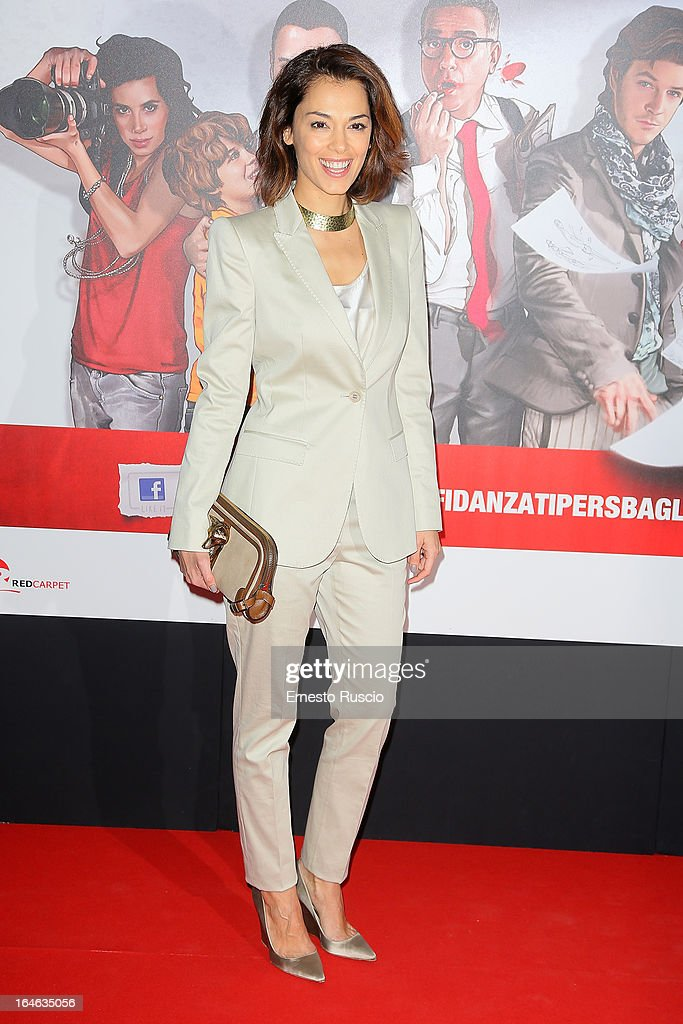 Giorgia Surina attends the 'Outing' premiere at Cinema Adriano on March 25, 2013 in Rome, Italy.