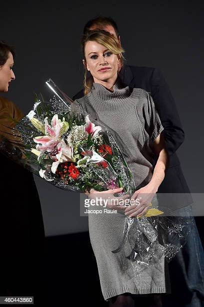 Giorgia Wurth attends day 5 of 24th Courmayeur Noir In Festival on December 13 2014 in Courmayeur Italy