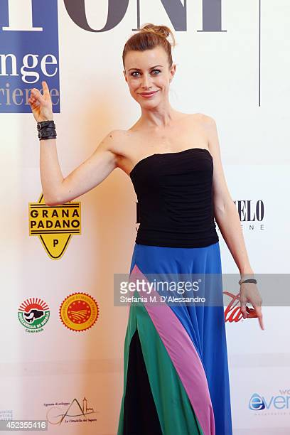 Giorgia Wurth attends Giffoni Film Festival photocall on July 18 2014 in Giffoni Valle Piana Italy