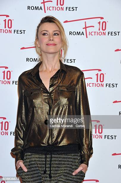 Giorgia Wurth attends the red carpet for 'Amore pensaci tu' on December 10 2016 in Rome Italy