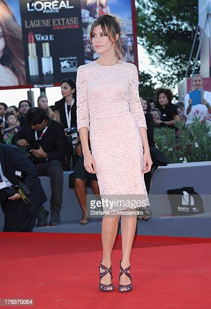 Giorgia Wurth attends the 'The Zero Theorem' Premiere during the 70th Venice International Film Festival at Sala Grande on September 2 2013 in Venice...