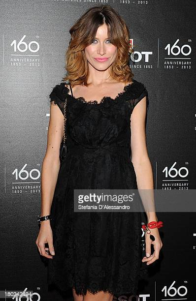 Giorgia Wurth attends Tissot 160th Anniversary at Piazza Vetra on September 10 2013 in Milan Italy