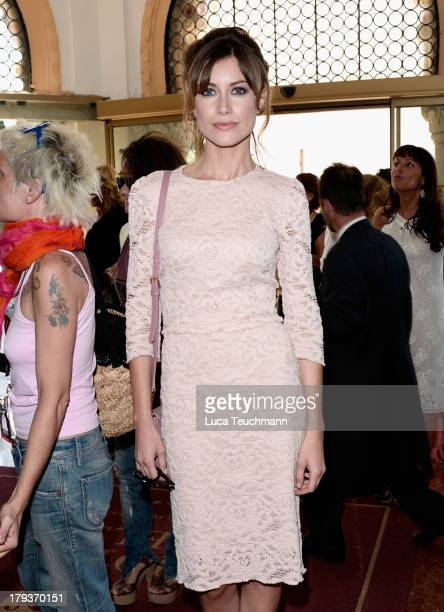 Giorgia Wurth is seen during the 70th Venice International Film Festival on September 2 2013 in Venice Italy