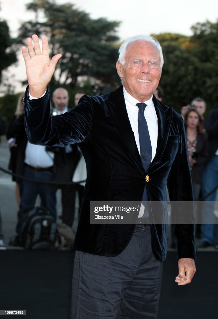 Giorgio Armani attends 'One Night Only' Roma hosted by Giorgio Armani on June 5, 2013 in Rome, Italy.